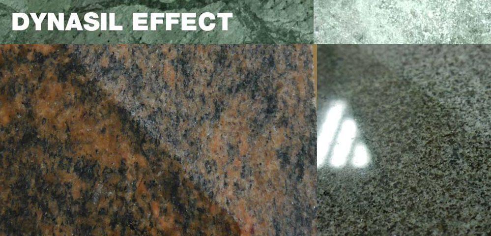 impregnat dynasil efekt mokrego kamienia